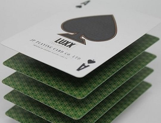 LUXX Elliptica Playing Cards (Green)