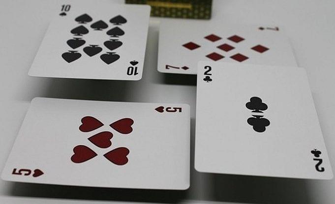 LUXX Elliptica Playing Cards (Purple)