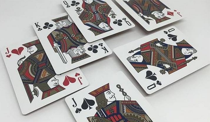 LUXX Palme Playing Cards (Red)