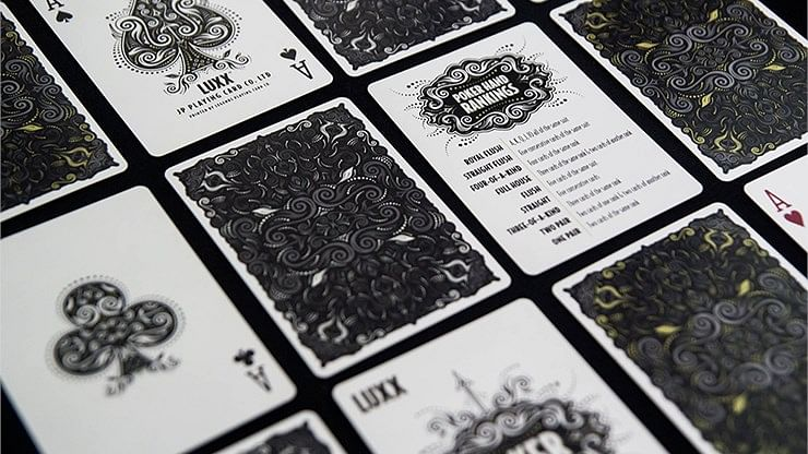 LUXX Playing Cards: Shadow Edition Silver (Second Edition)
