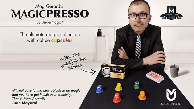 Mag Gerard's MAGICPRESSO - magic