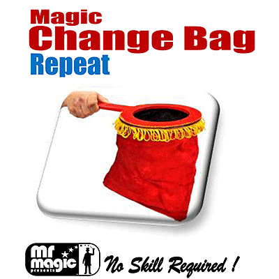 Magic Change Bag (Repeat) - magic