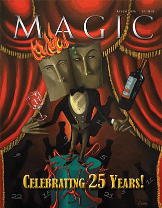 Magic Magazine - August 2016  - magic