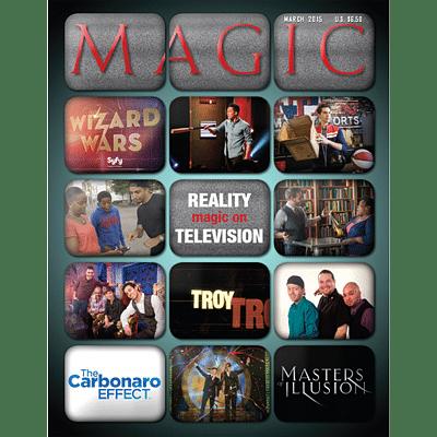 Magic Magazine - March 2015  - magic
