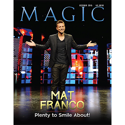 Magic Magazine - October 2015  - magic