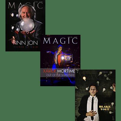 Magic Magazine Set (July, August, Septemeber 2014) - magic