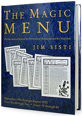 Magic Menu book Years 6-10 - magic