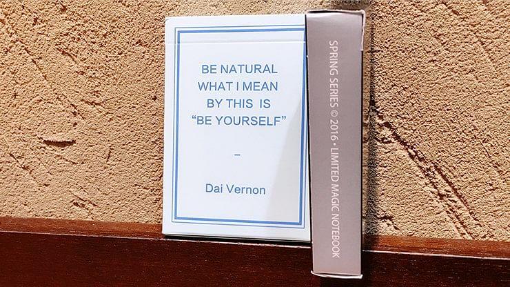 Dai Vernon's Magic Notebook Playing Cards - magic