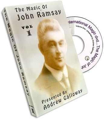 Magic of John Ramsay DVD #1 - magic