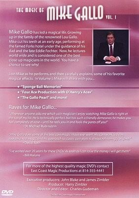Magic Of Mike Gallo - Volume 1