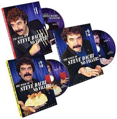 Magic of Steve Dacri Vol 1-3 - magic