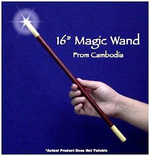 """Magic Wand 16"""" Exotic Woods - magic"""