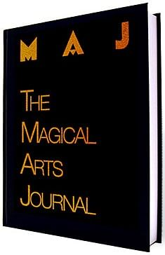 Magical Arts Journal - Deluxe Signed - magic