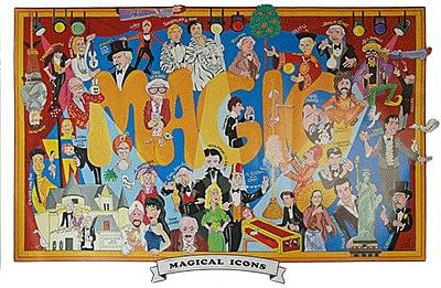 Magical Icons Poster - magic