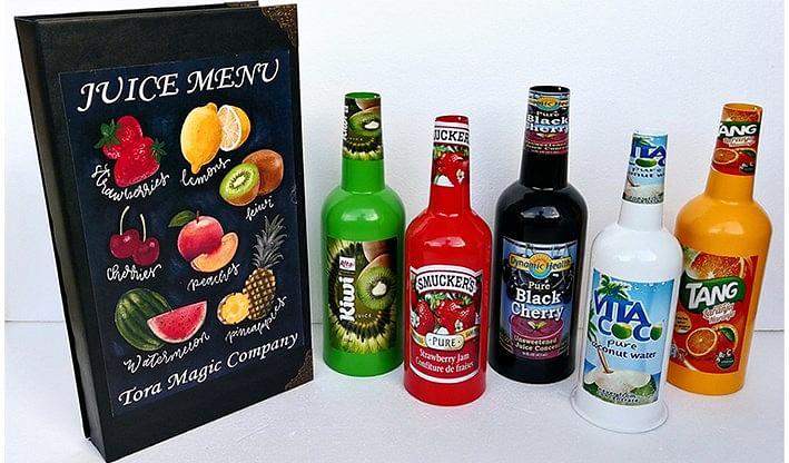 Magical Juice Menu - magic