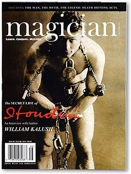 Magician Magazine HOUDINI Issue - magic