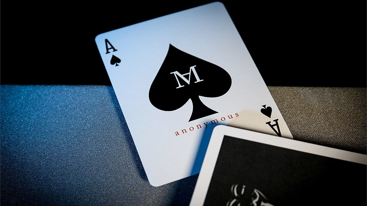Magician's Anonymous Playing Cards