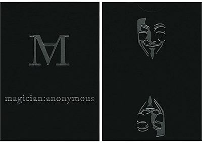 Magician's Anonymous Playing Cards - magic