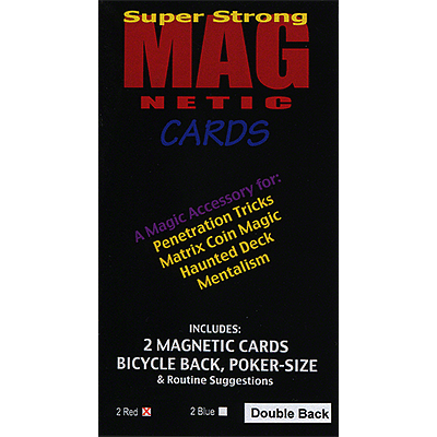 Magnetic Card (Double Backed) - magic