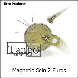 Magnetic Coin - 2 Euros - magic
