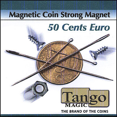Magnetic Coin - 50 Euro Cents - Extra Strong Magnet - magic