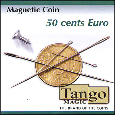 Magnetic Coin - 50 Euro Cents - magic