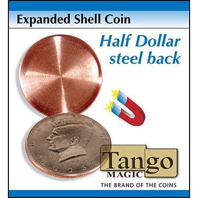 Tango Expanded Magnetic Shell - Half Dollar  - magic