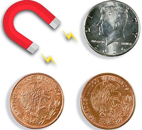 Magnetic Scotch and Soda Mexican Coin