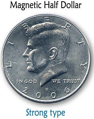 Magnetic US Half Dollar - magic