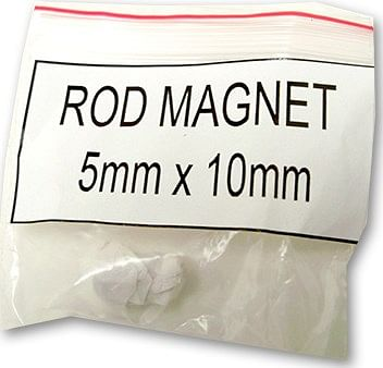 Magnets - Rod Magnet 5Mm X 10Mm - magic