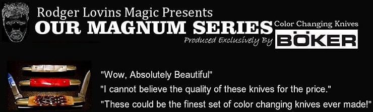 Magnum Color Changing Knife Set