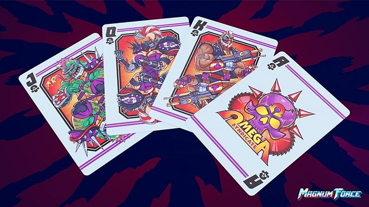 Magnum Force Playing Cards