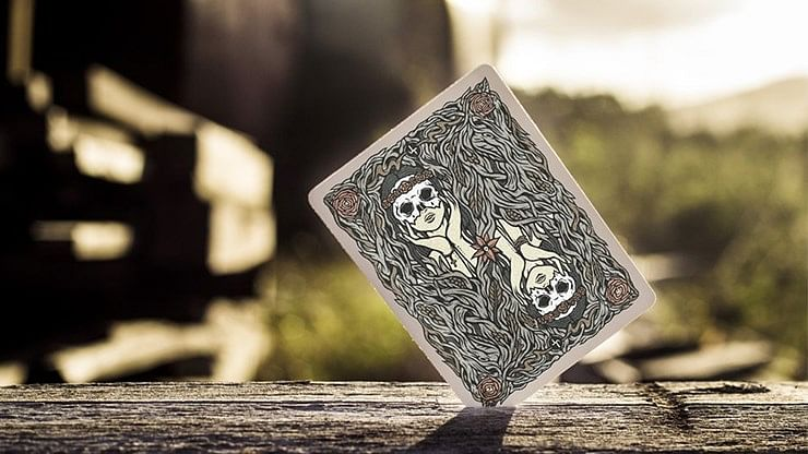 Maidens Playing Cards