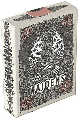Maidens Playing Cards - magic