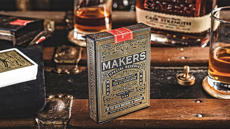 MAKERS: Blacksmith Edition Playing Cards - magic