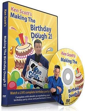 Making the Birthday Dough 2.0 - magic
