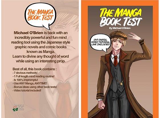 Manga Book Test - magic
