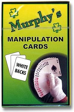 Manipulation Cards (White Backs) - magic