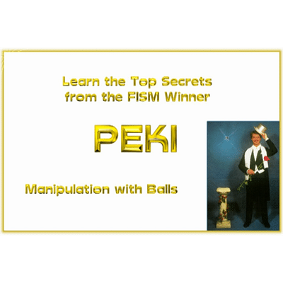 Manipulation with Balls  - magic