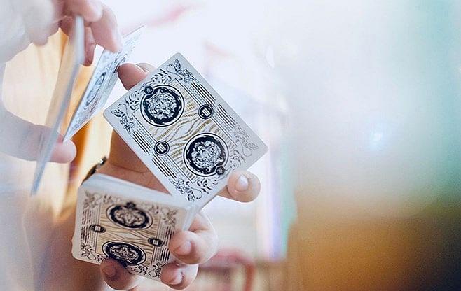 Mantecore Blanc Playing Cards