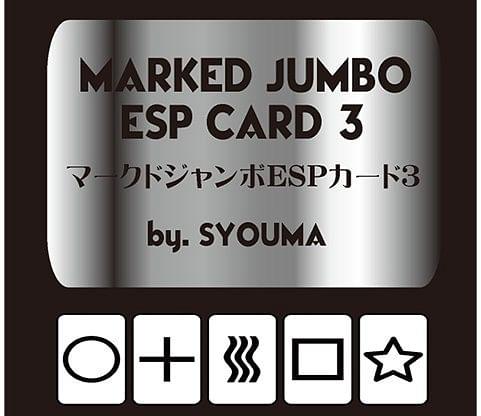 Marked Jumbo ESP Cards - magic