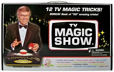 Marshall Brodien TV Magic Set - magic