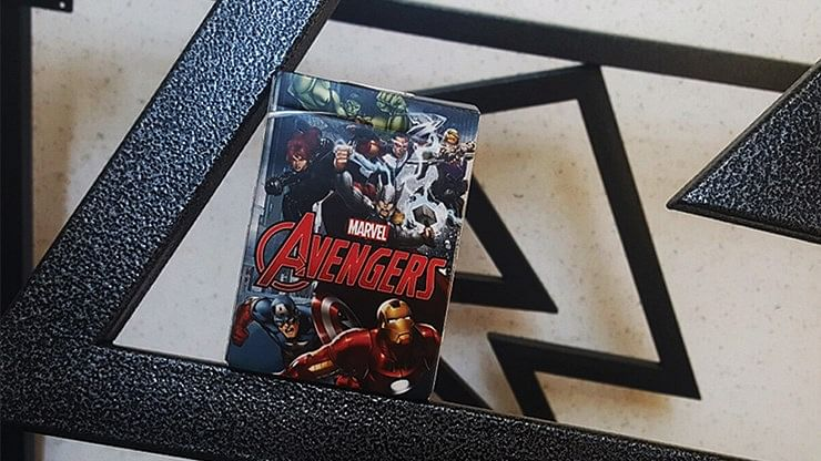 Marvel Avengers Playing Cards - magic