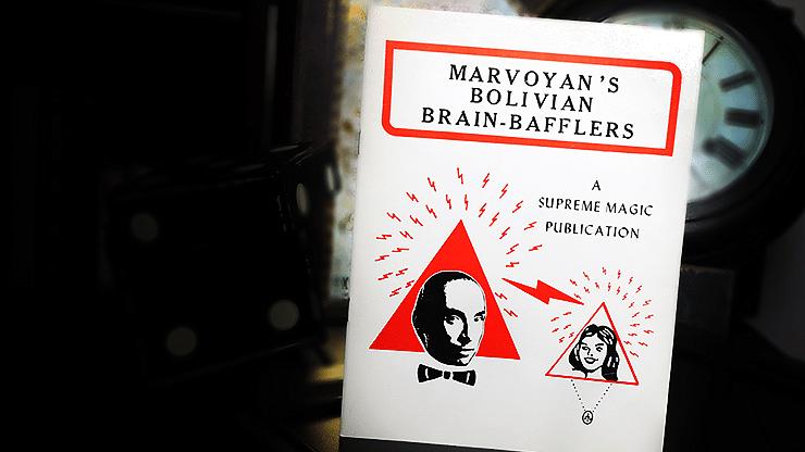 Marvoyan's Bolivian Brain-Bafflers - magic