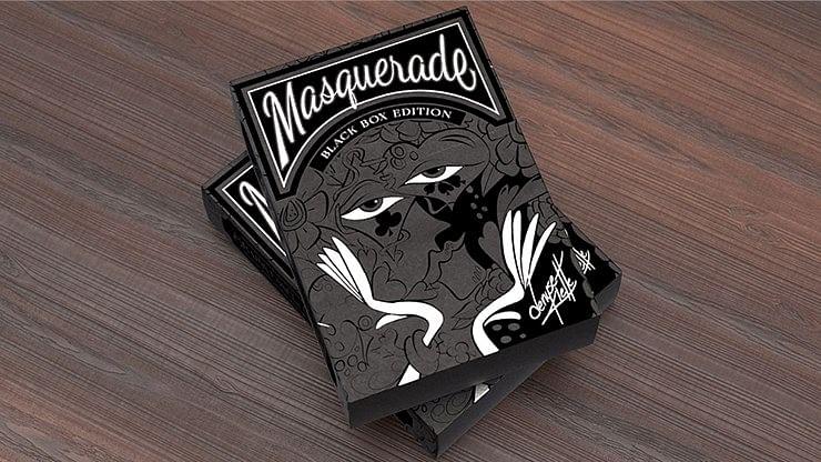 Masquerade Black Box Edition Playing Cards - magic