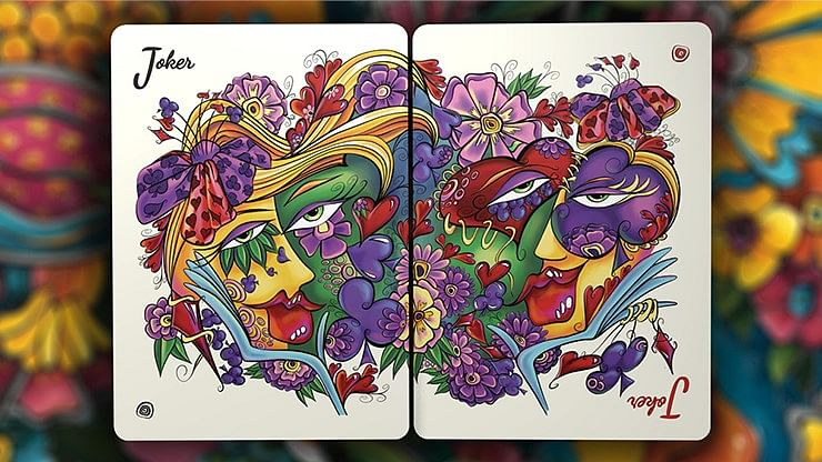 Masquerade Mardi Gras Edition Playing Cards