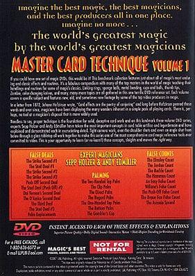 Master Card Technique Volume 1