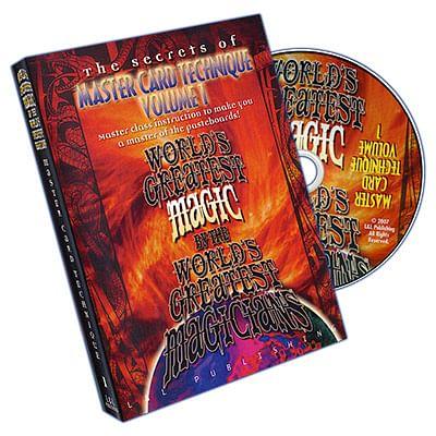 Master Card Technique Volume 1 - magic