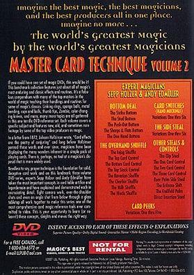 Master Card Technique Volume 2