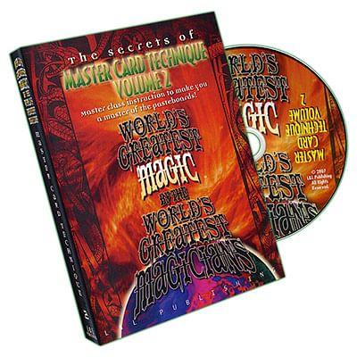 Master Card Technique Volume 2 - magic